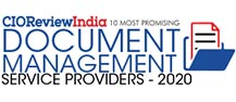 10 Most Promising Document Management Service Providers - 2020
